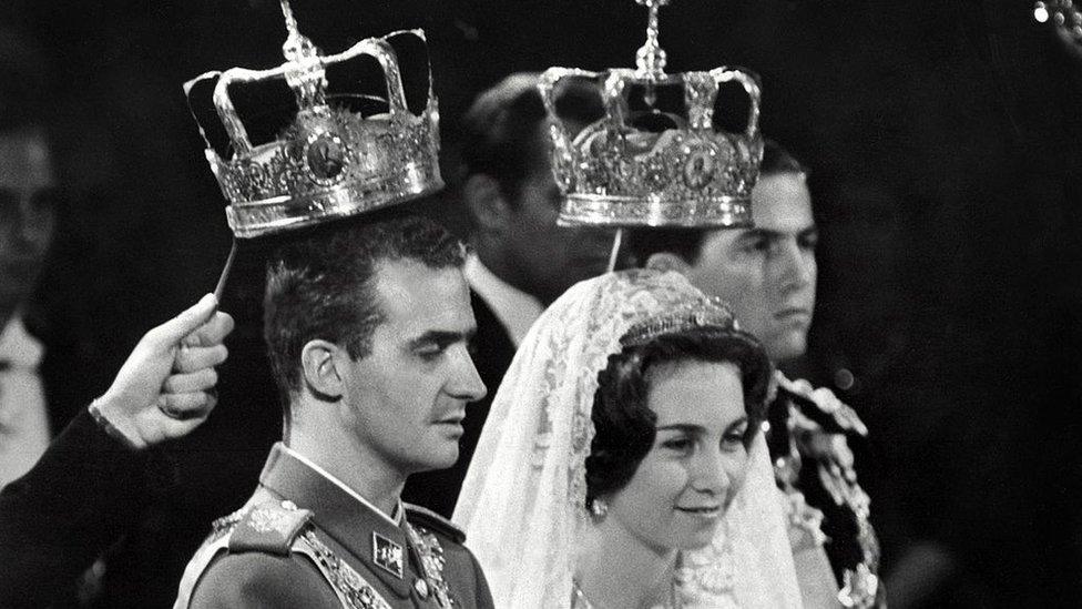 Boda de Juan Carlos y Sofía.
