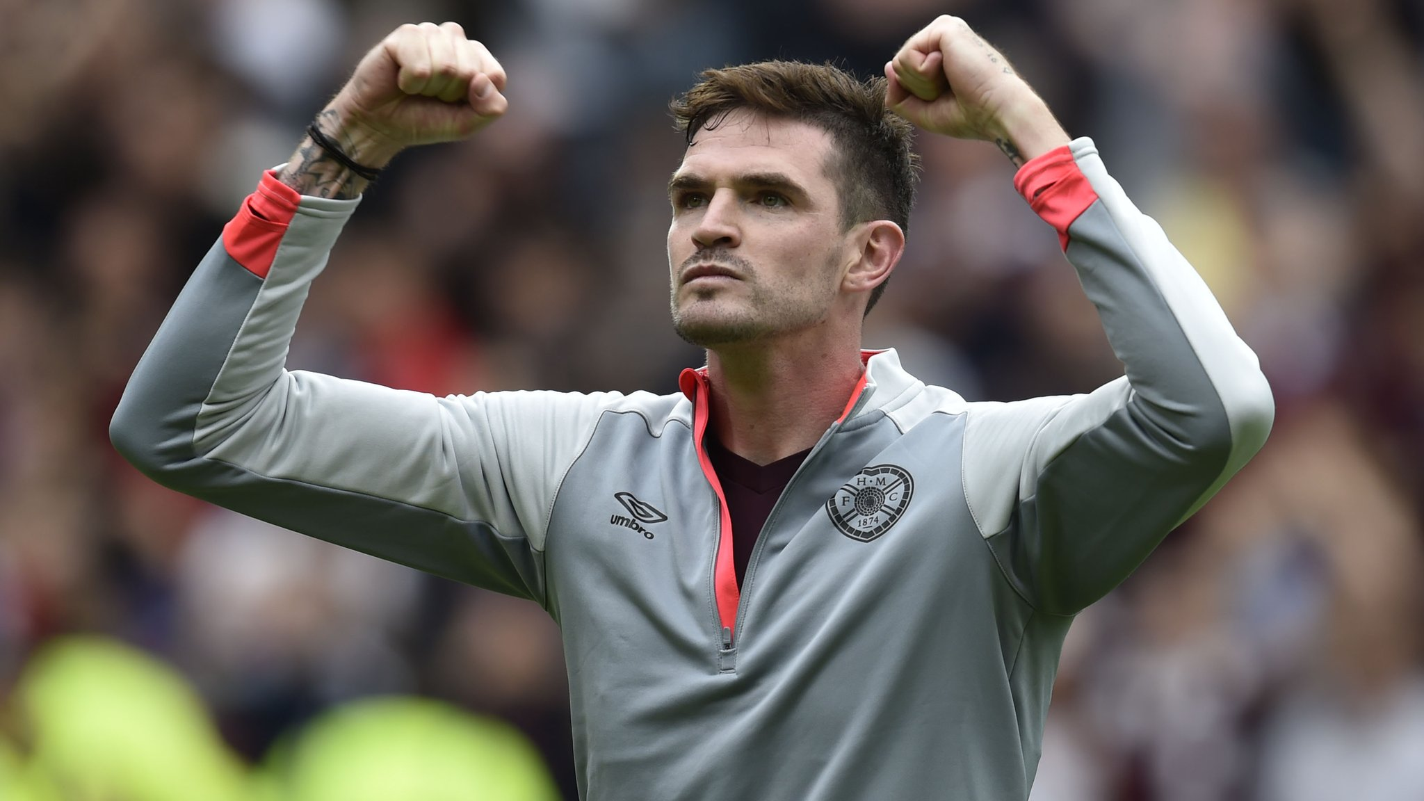 'My future is up to Hearts & Rangers' - Lafferty