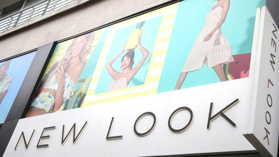 New Look shop