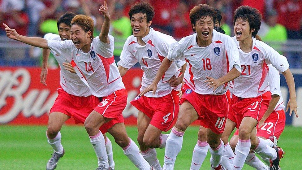 Güney Koreli futbolcular