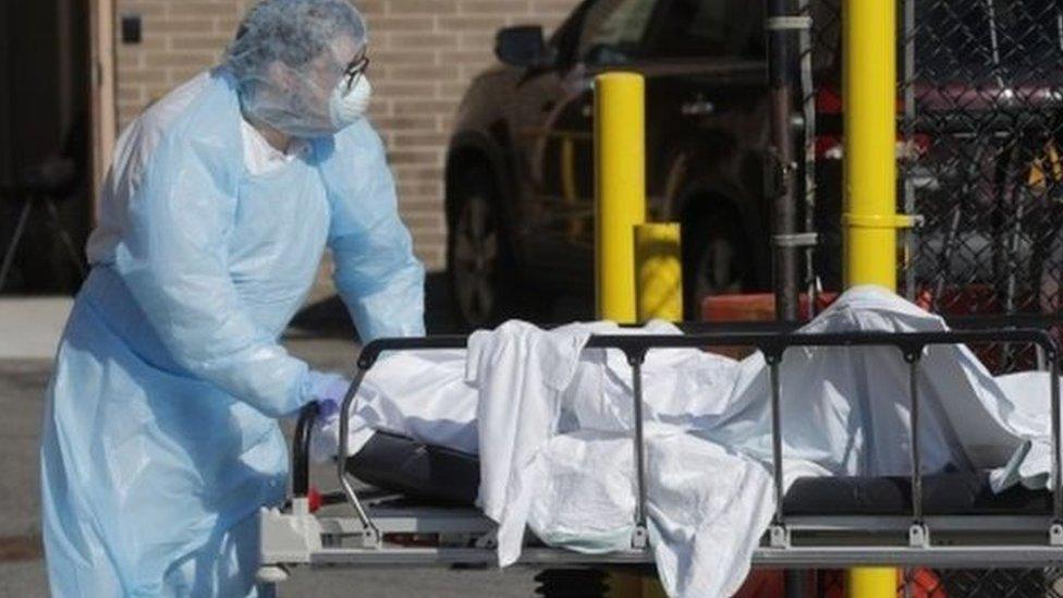 ضحايا فيروس كورونا في أمريكا