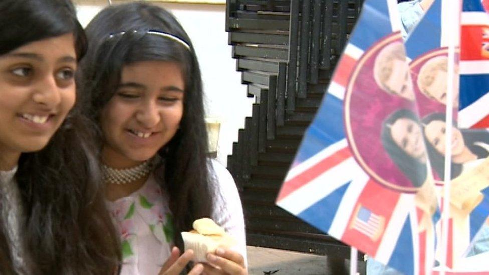 Birmingham primary school in royal wedding lunch