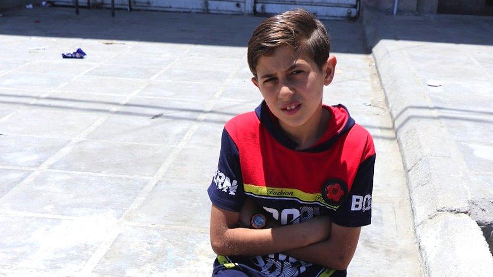 محمد: هذا المكان هو كل حياتي. عندما أحضر، يستقبلني الجميع بوجه مشرق وابتسامة
