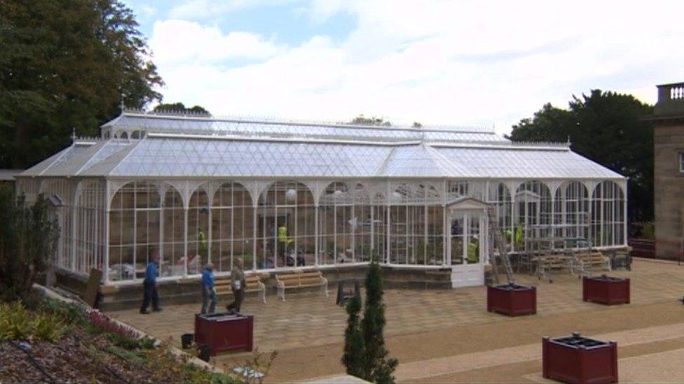 Restored Victorian conservatory