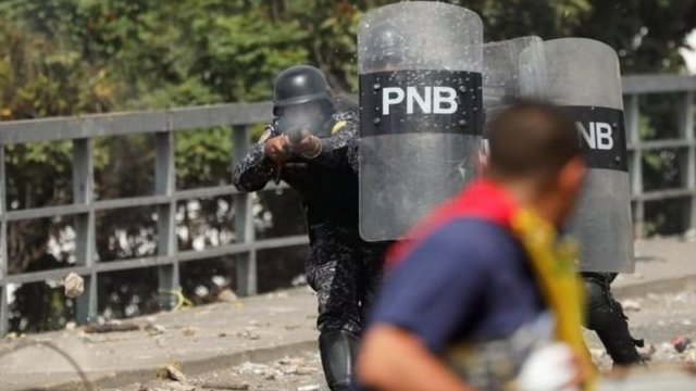Protestas en Venezuela. NO USAR | BBC