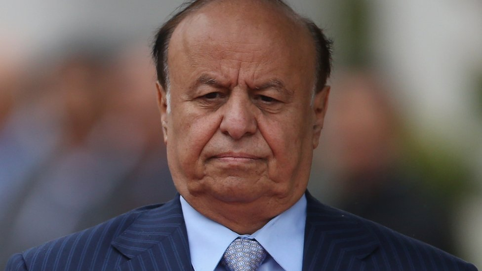 Yemeni President Abdrabbuh Mansour Hadi