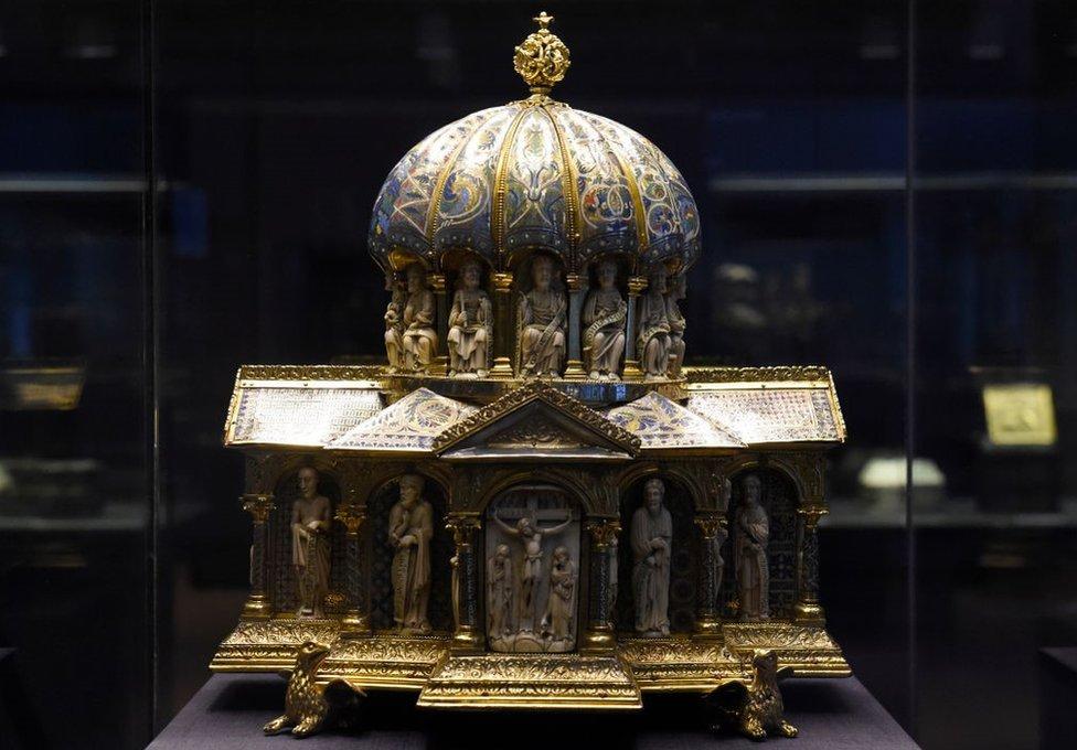 Relicario medieval.