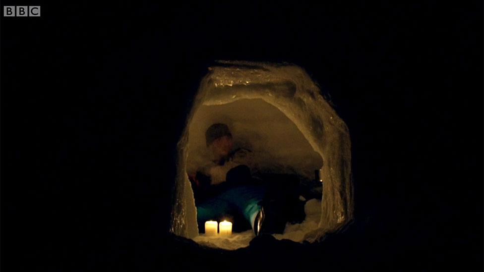 Julius en el iglú