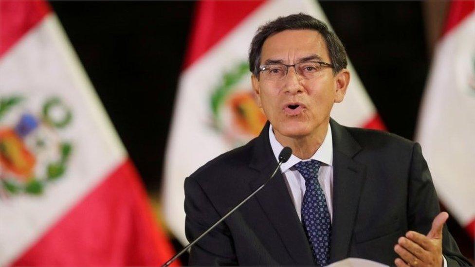 Peru's president denies graft ahead of new impeachment vote