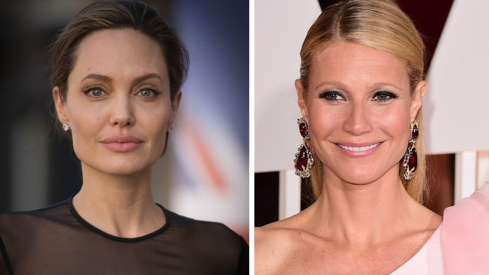 Angelina Jolie, Gwyneth Paltrow, Weinstein