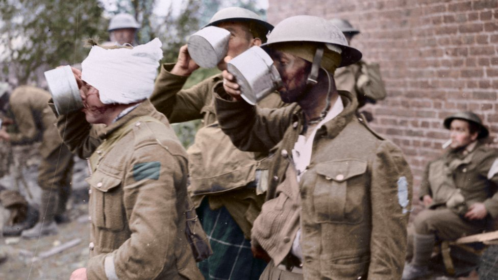 'Suddenly real': Colour brings new life to archival WW1 photos