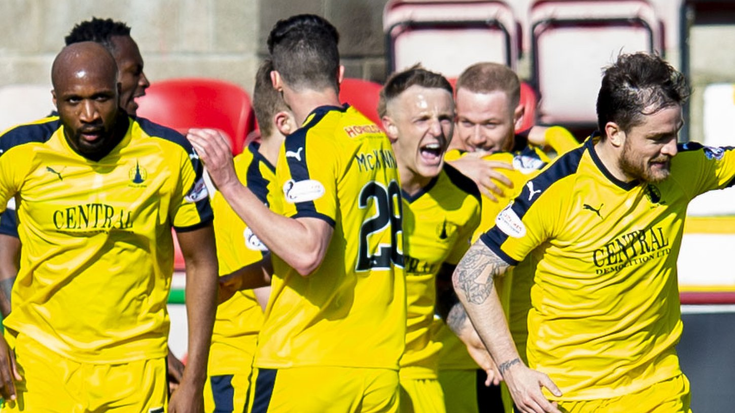 Falkirk off bottom after priceless win at Dunfermline