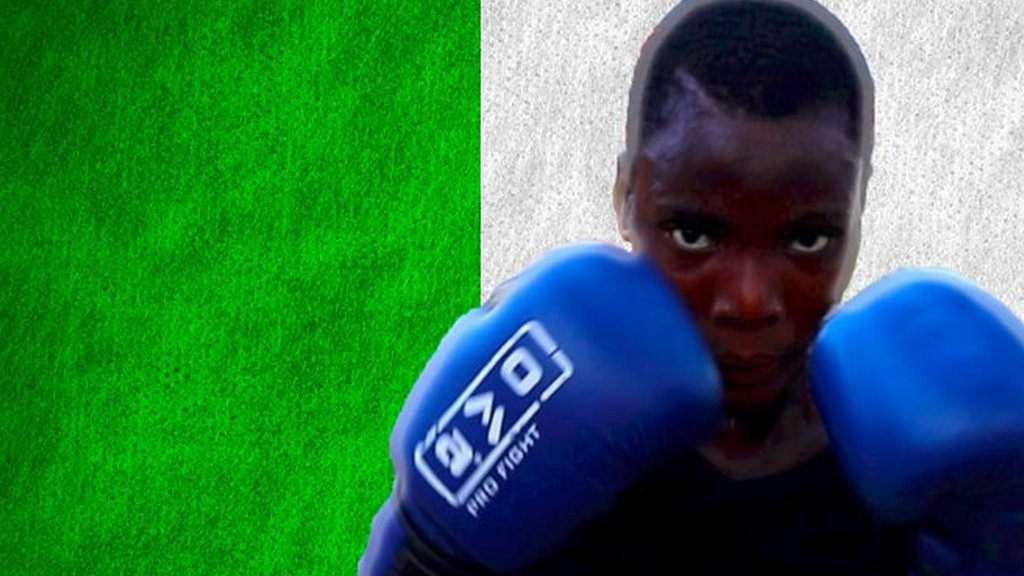 'Men can't box me' - dreaming of Tokyo 2020 from a dirt ring in Nigeria