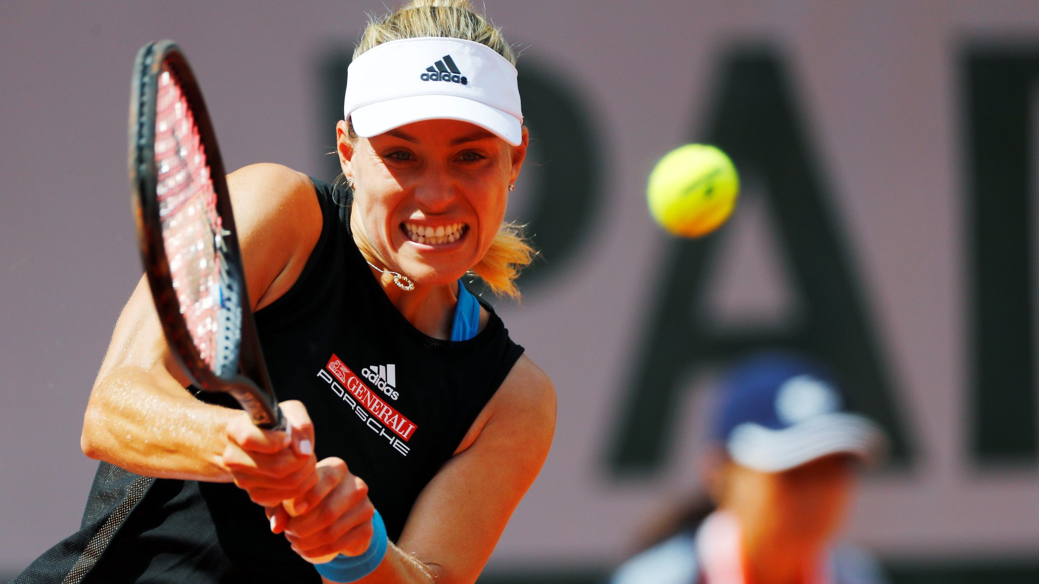 Kerber suffers shock first-round exit in Paris