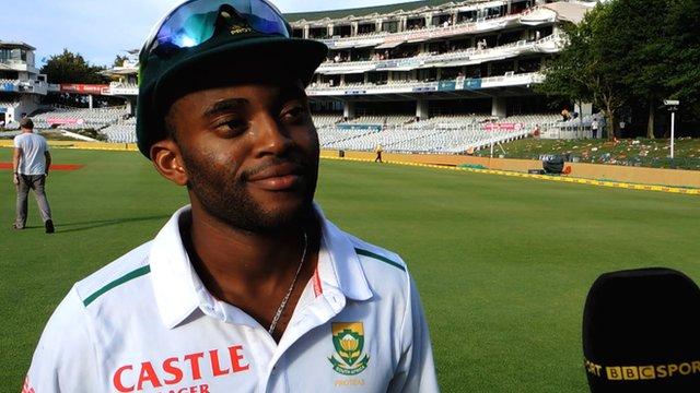 South Africa batsman Temba Bavuma