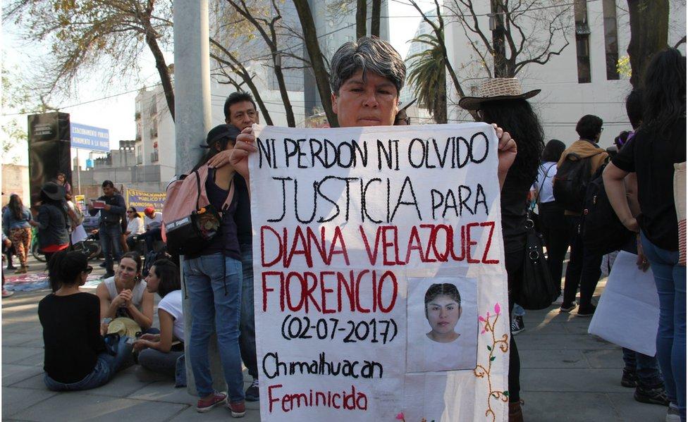 BBC. NO USAR. Marcha feminista.