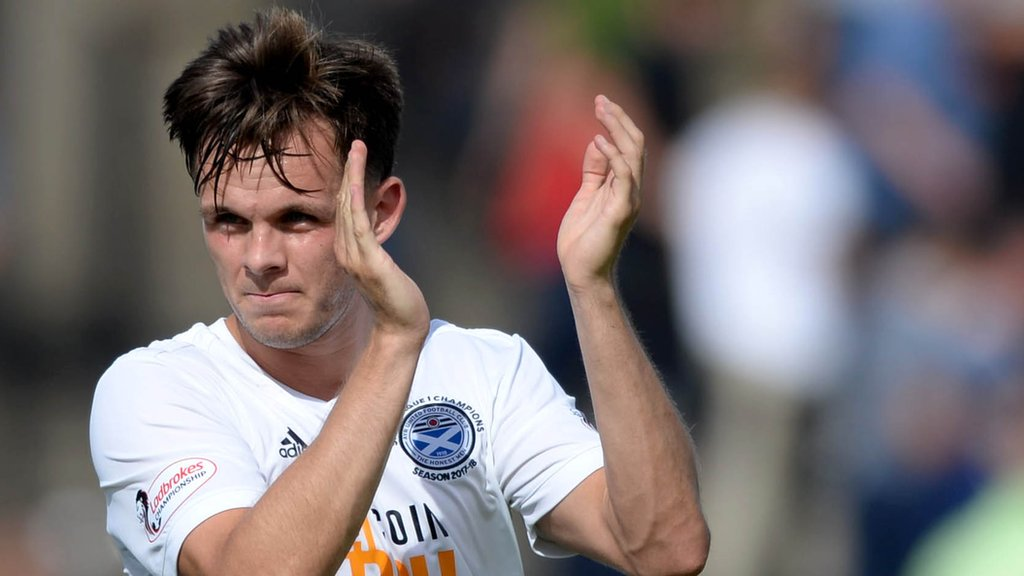 Lawrence Shankland: Dundee boss plays down interest in Ayr forward