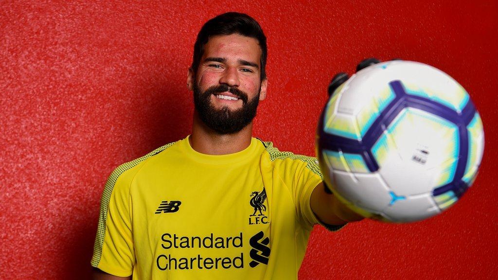Oficial: Alisson Becker es nuevo portero del Liverpool