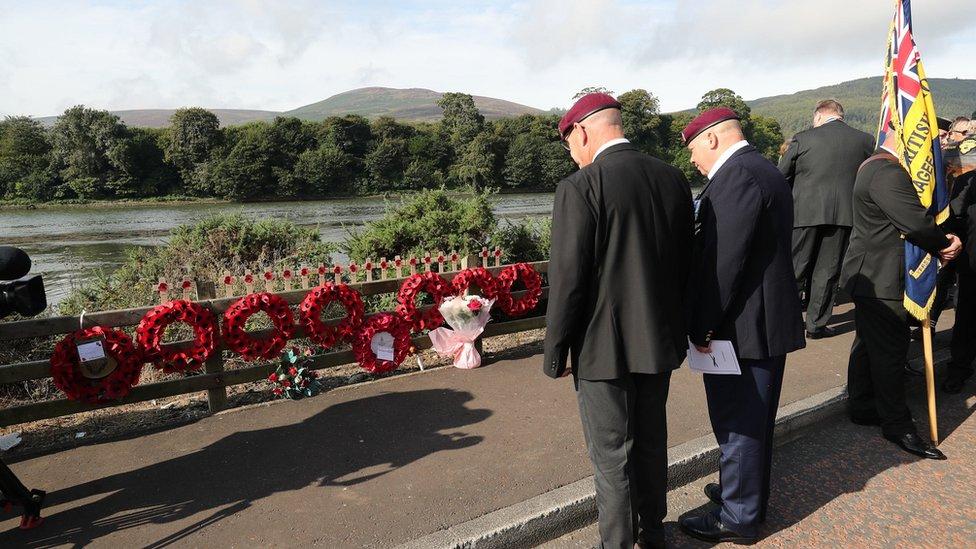 Mountbatten Anniversary Service Held To Mark Ira Killings Bbc News