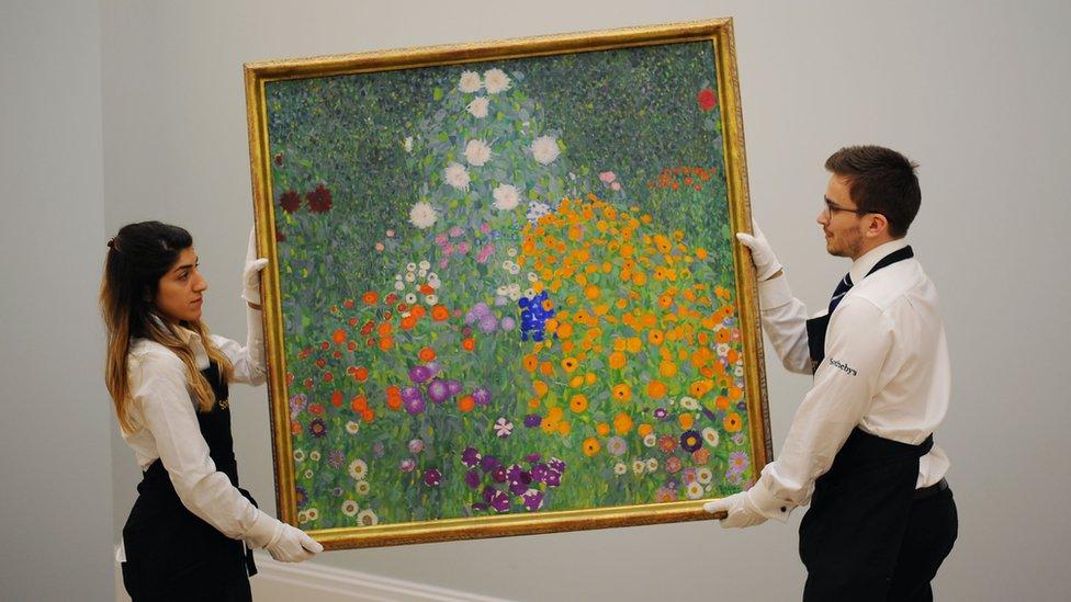 Bauerngartern by Gustav Klimt