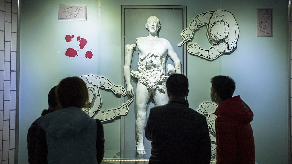 En Harbin, en el noreste de China, hay un museo que muestra los experimentos con humanos de la Unidad 731.