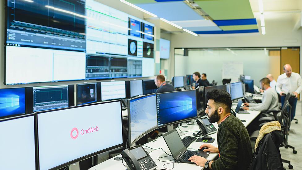 London control room