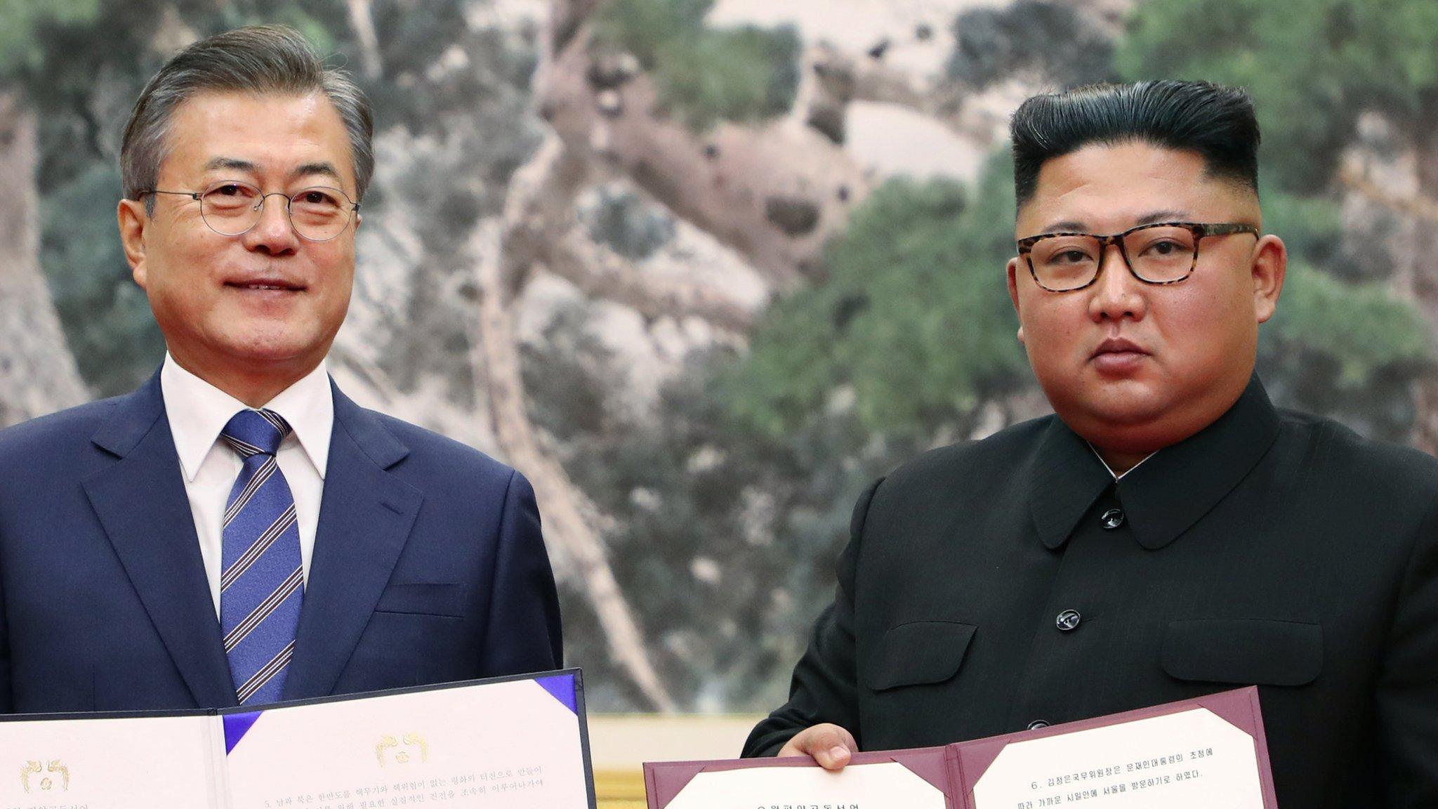 North & South Korea agree 2032 Olympics bid