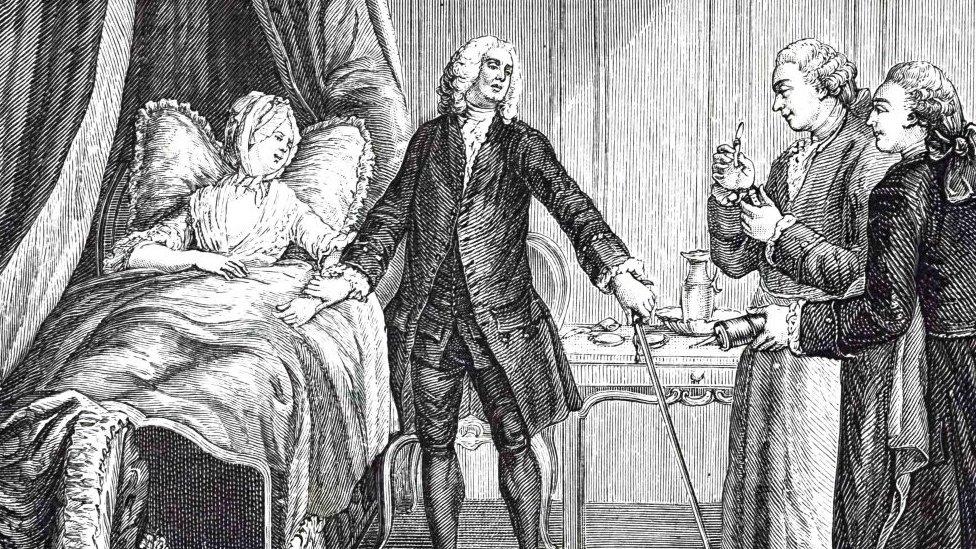 Médicos en el siglo XVIII