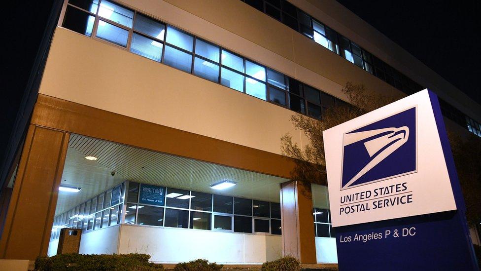 pošta u americi