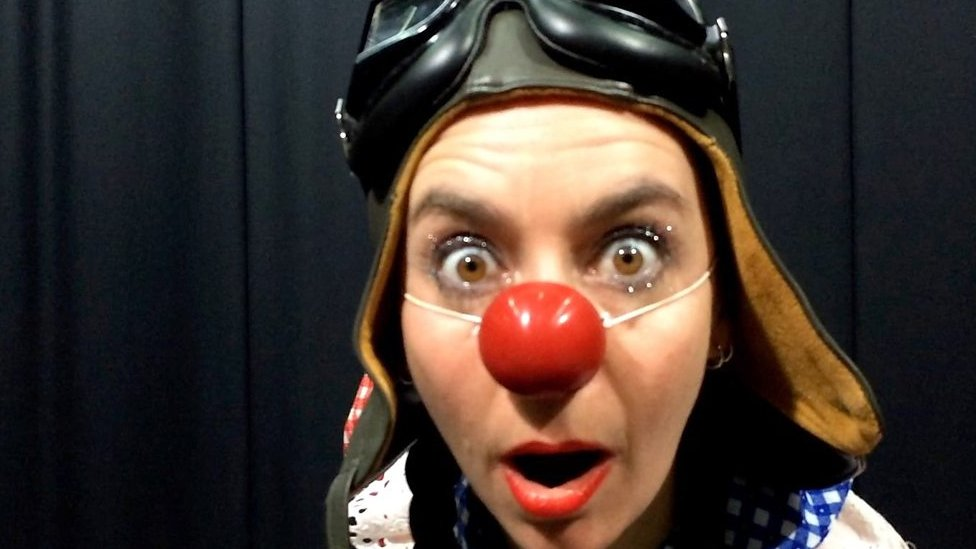 Clowning is the 'ticket to freedom'