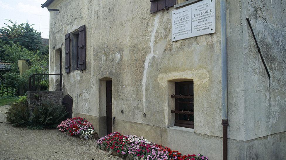 La casa donde nació Braille es hoy un museo.
