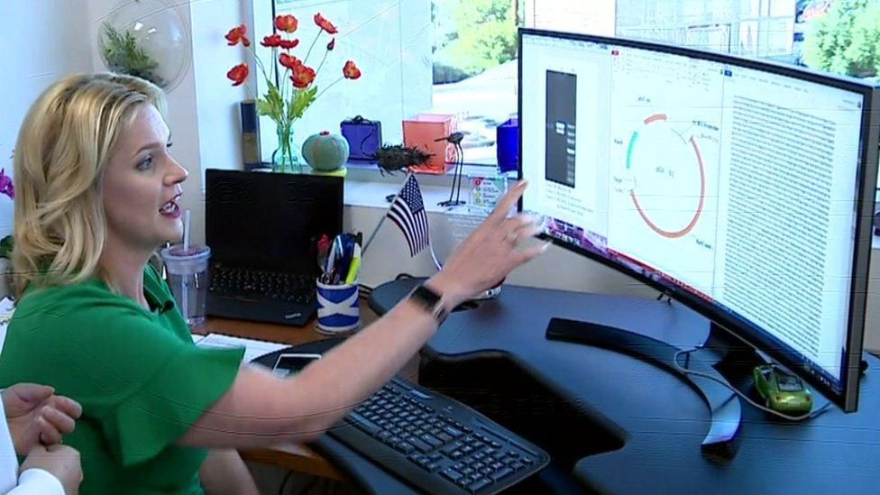 Kate Broderick, vicepresidenta de investigación y desarrollo de Inovio
