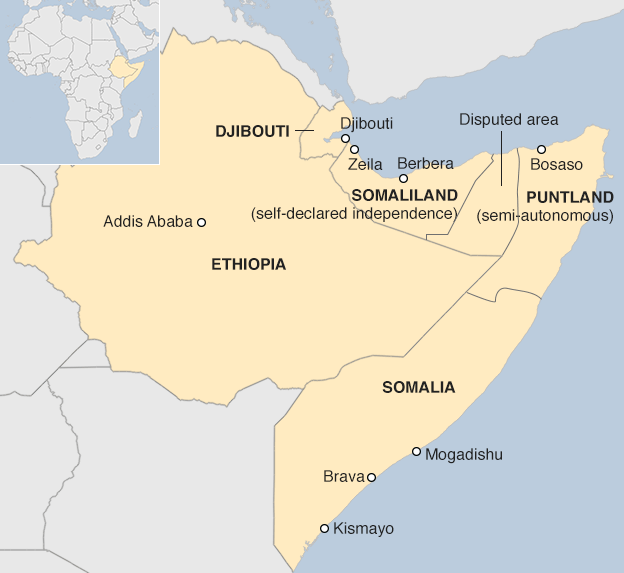 Africa ports