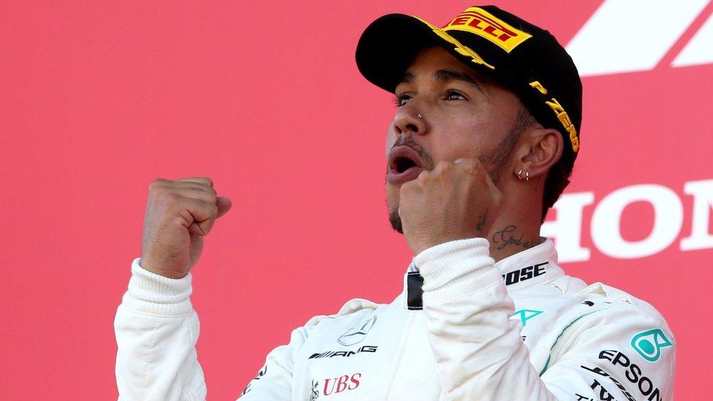 Laureus Awards: Lewis Hamilton and Geraint Thomas nominated for prestigious awards