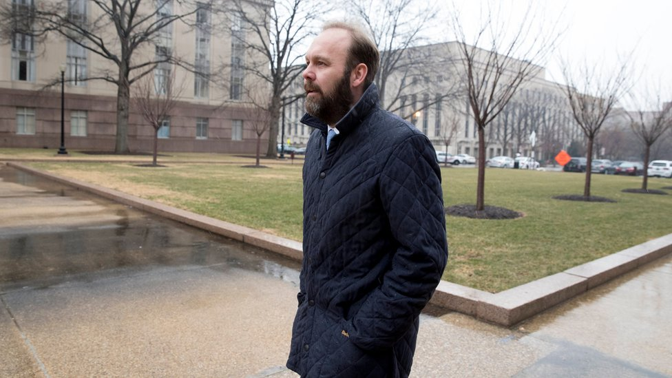 Former associate to former Trump Campaign Manager Paul Manafort, Rick Gates,