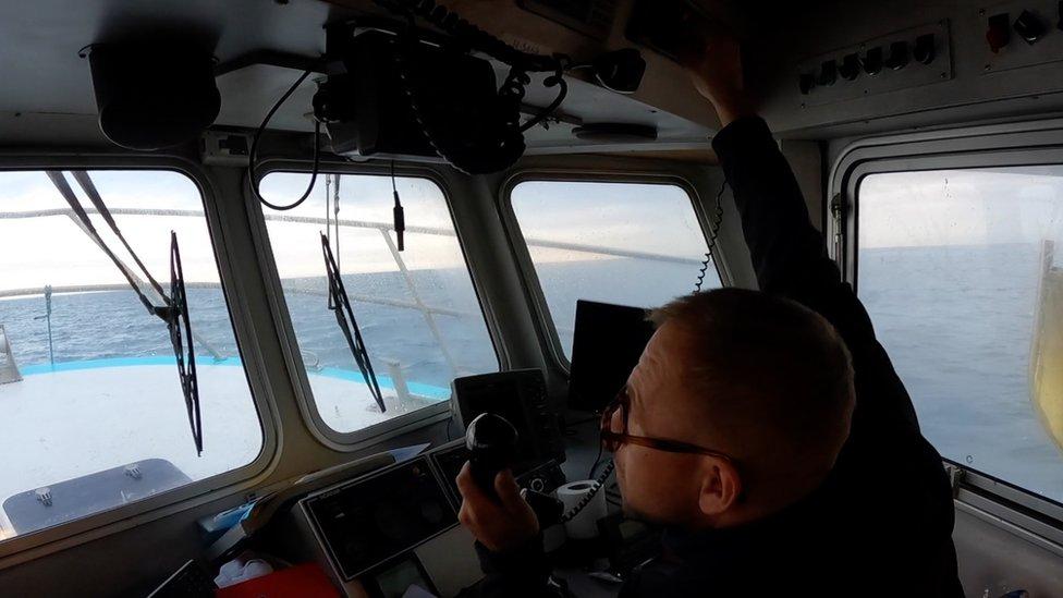 Fisherman Laurent Merlin fears Brexit negotiations could leave him struggling