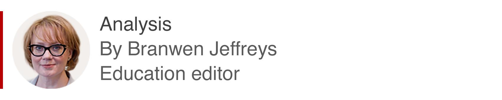 Analysis box by Branwen Jeffreys, education editor
