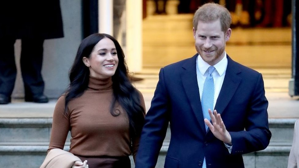 The Duke and Duchess of Sussex visit Canada House in January