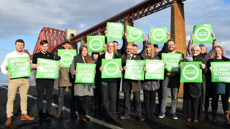 The Scottish Green Party launched its general election campaign in South Queensferry