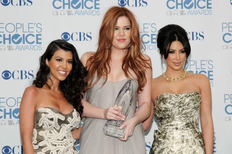 Kourtney, Khloe y Kim Kardashian