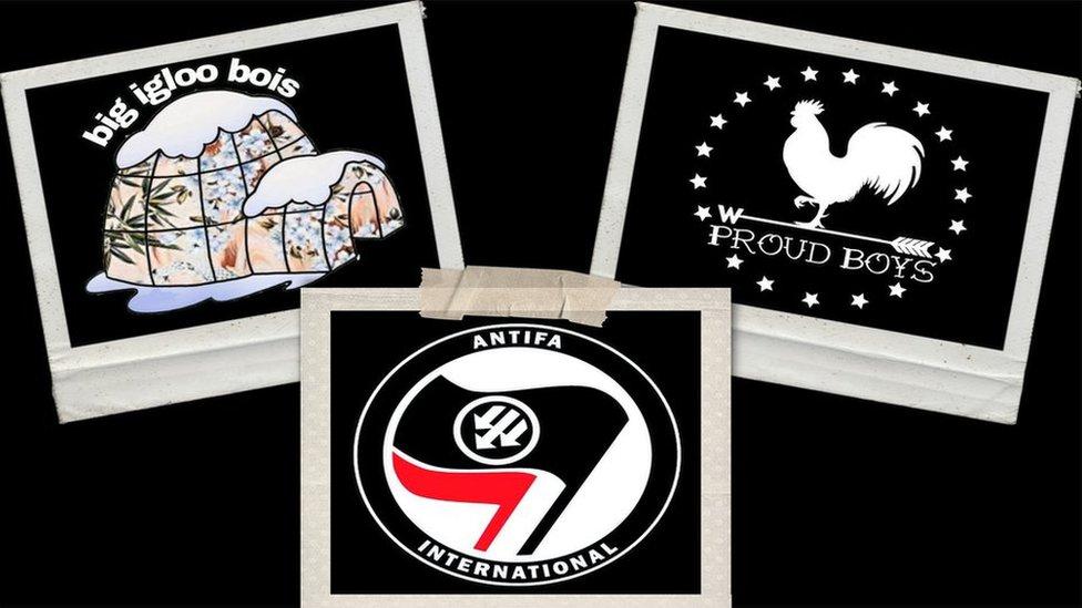 Kolaž na kome su logoi Antife, Bugalu Bojsa i Pradu Bojsa