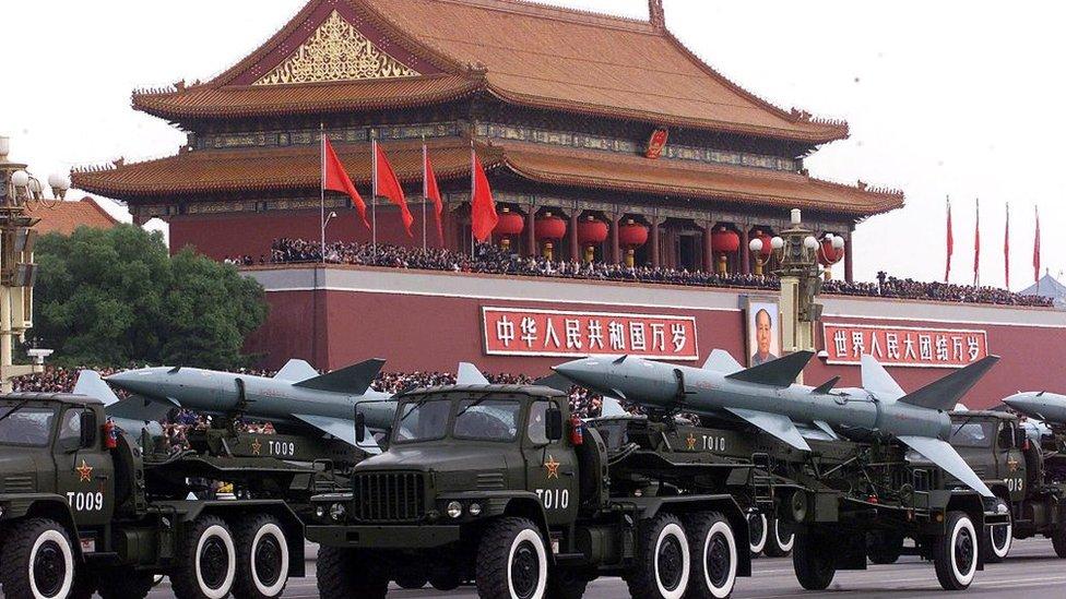 中國建國70週年閲兵