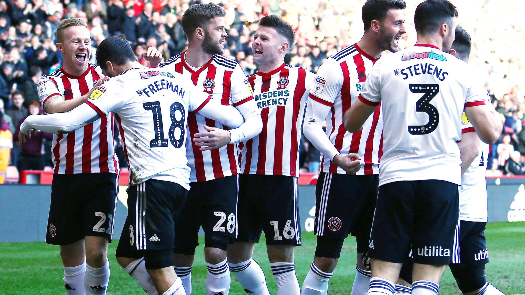 Sheffield United 4-0 Reading: Blades go second with routine win over Royals