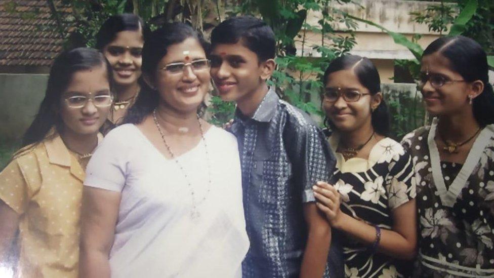 母親和孩子