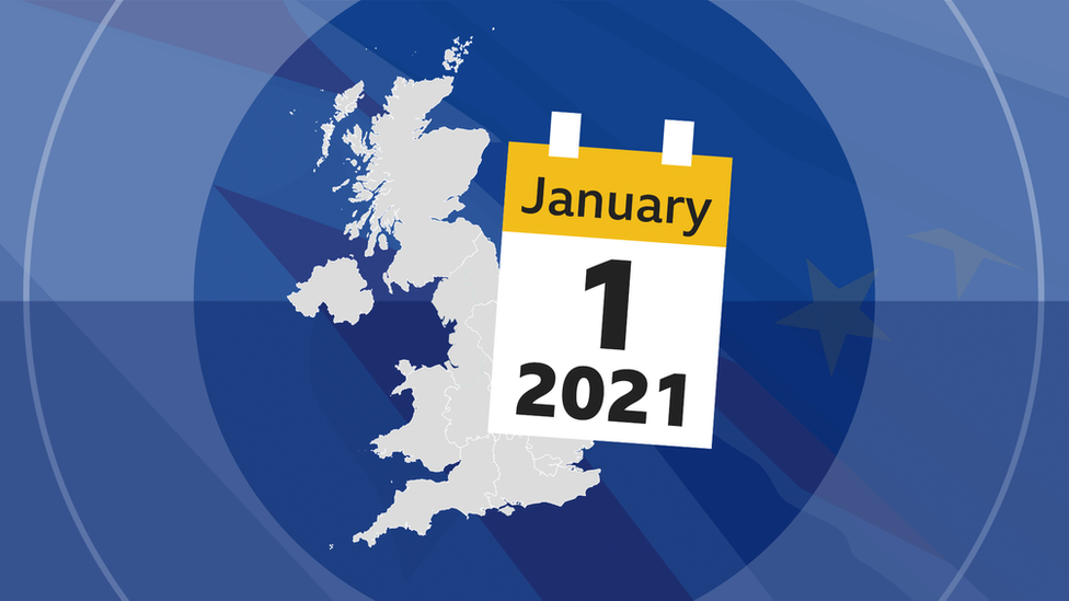 A graphic showing the UK and a calendar