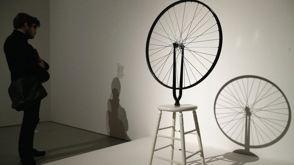 La rueda de Duchamp