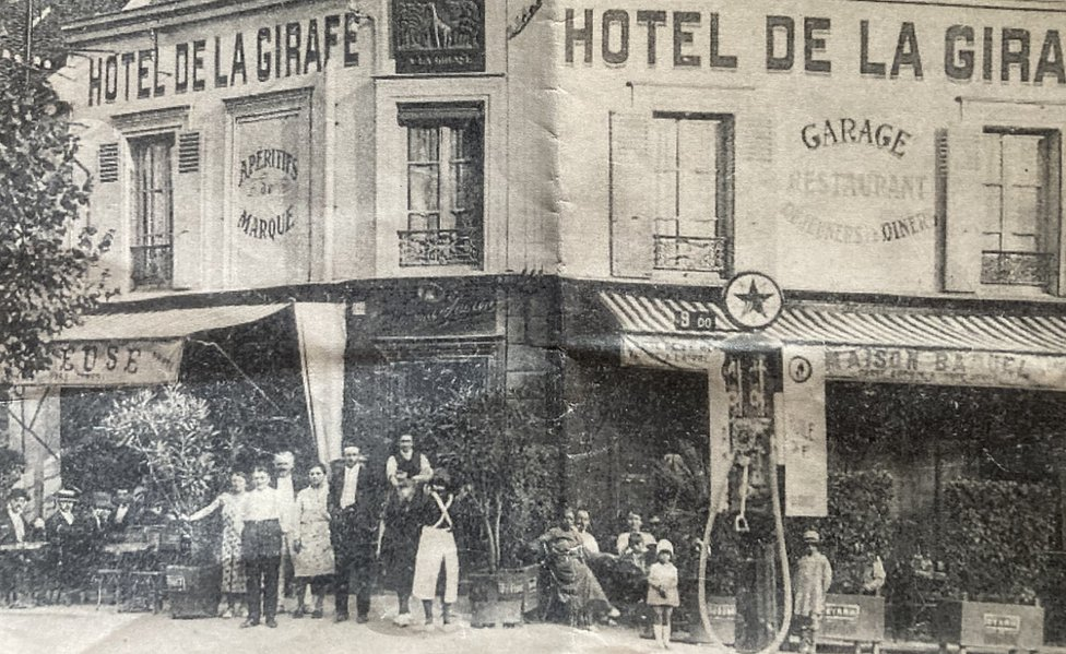 Girafe hotel