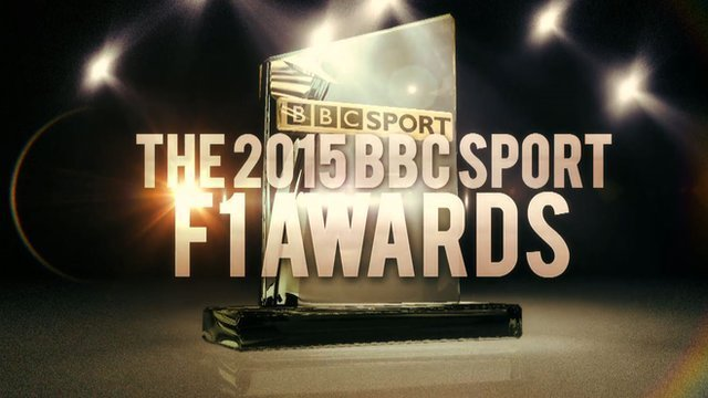 The 2015 BBC Sport F1 awards