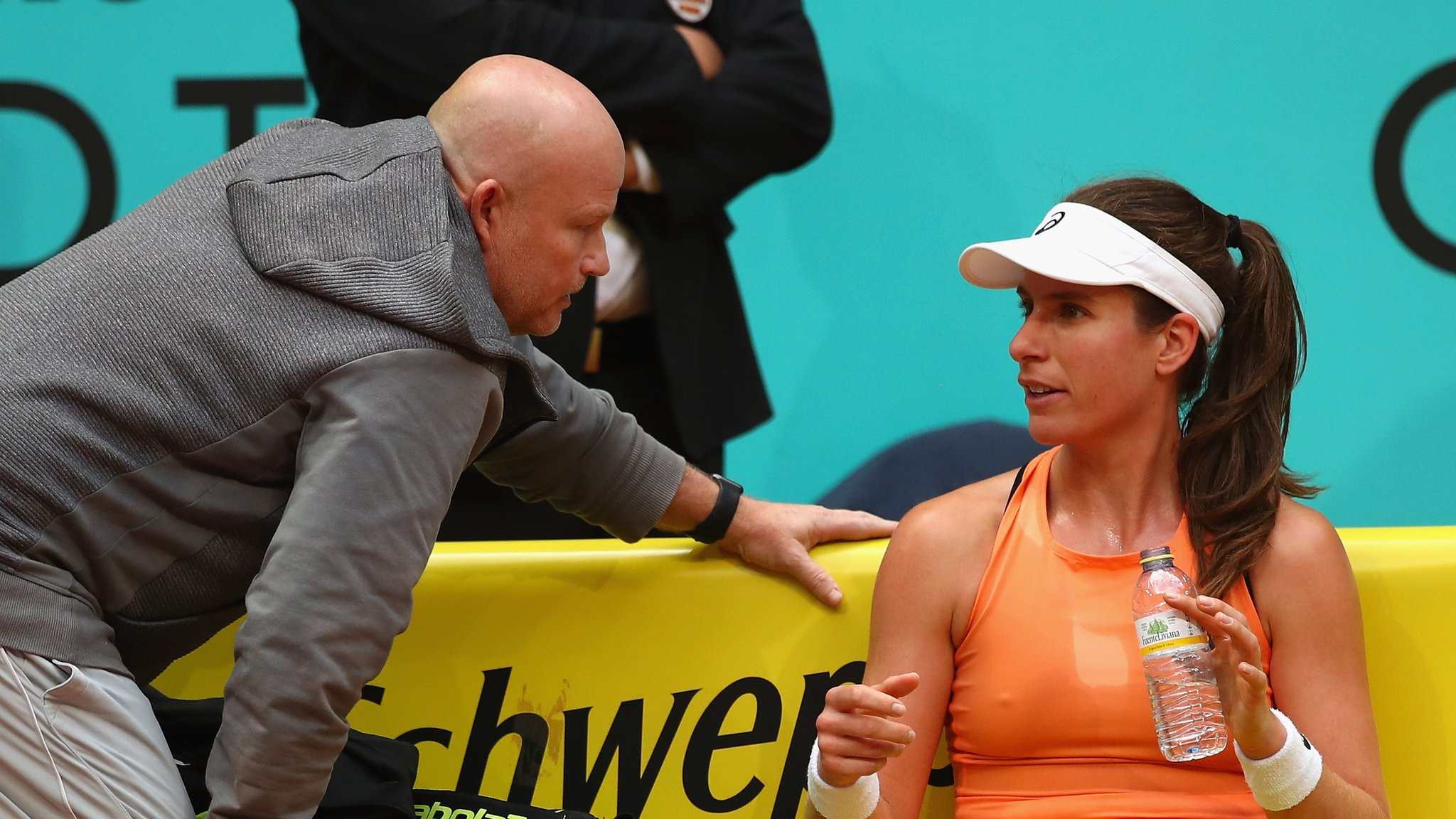 Johanna Konta splits with coach Michael Joyce