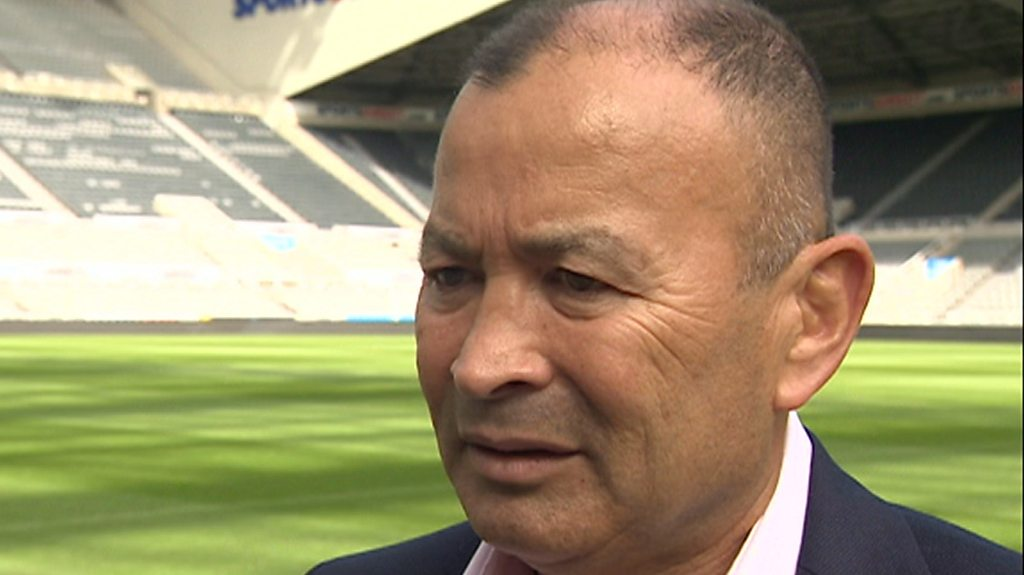 Eddie Jones says rugby union coaches 'aren't being treated like professionals'